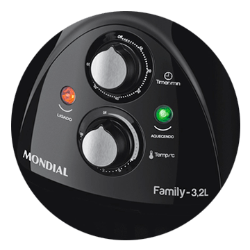 Fritadeira Air Fryer Mondial 3.2 Litros NAF05