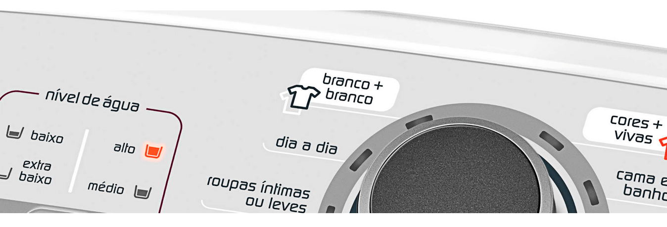 Ciclo Branco Mais Branco - Lavadora Brastemp 15 Kg BWH15