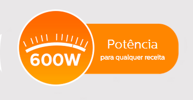 Potencia de 600W