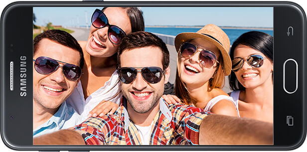 Selfies Galaxy J7 Neo