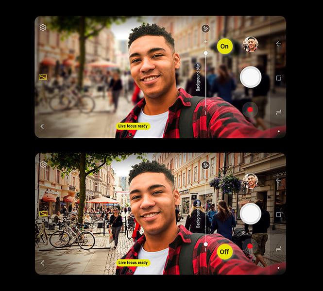 Selfies perfeitas - Galaxy A8