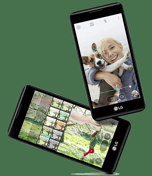 Selfie fácil LG X Style