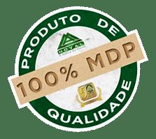 Selo 100% MDF Guarda-roupa Moval Mafra