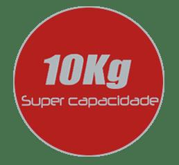 Capacidade Lavadora Semiautomática LCB10