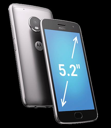 Tela Moto G5 Plus Ouro