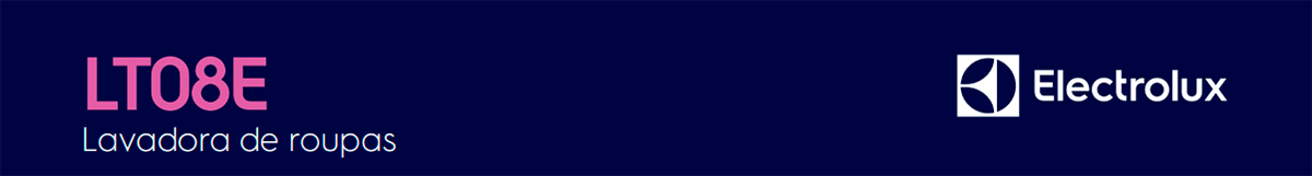 Faixa Lavadora Electrolux LT08E