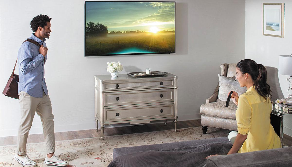 Smart 4K UHD TV MU6100