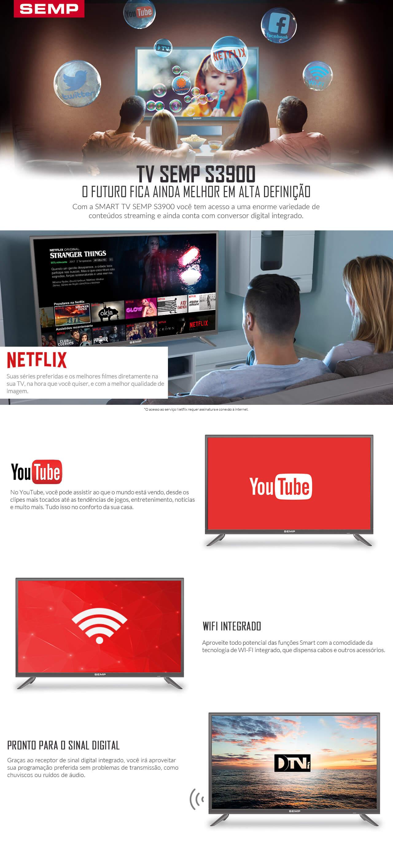 TV Semp S3900