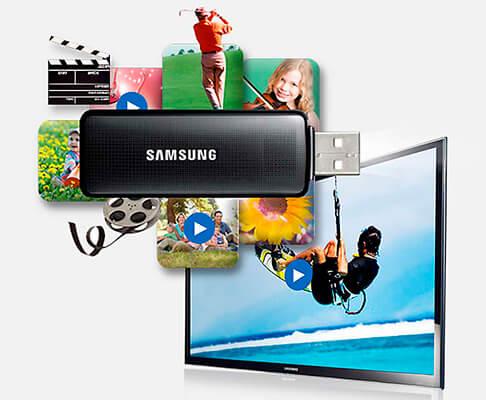 USB e HDMI Smart TV Samsung J5200