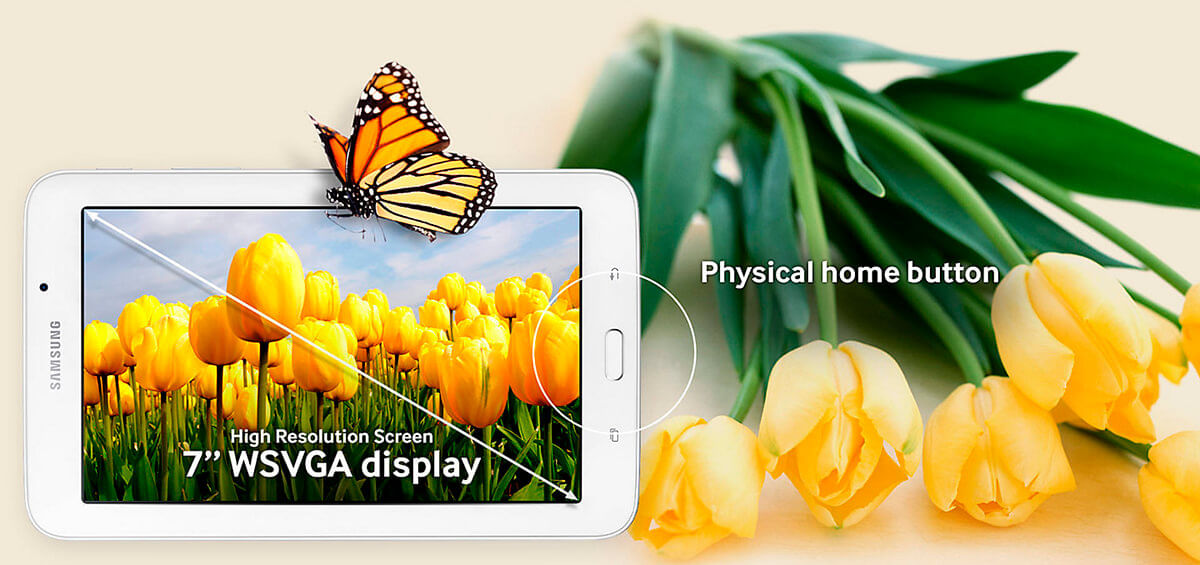 Visualização Galaxy Tab E 7.0 Wi-Fi