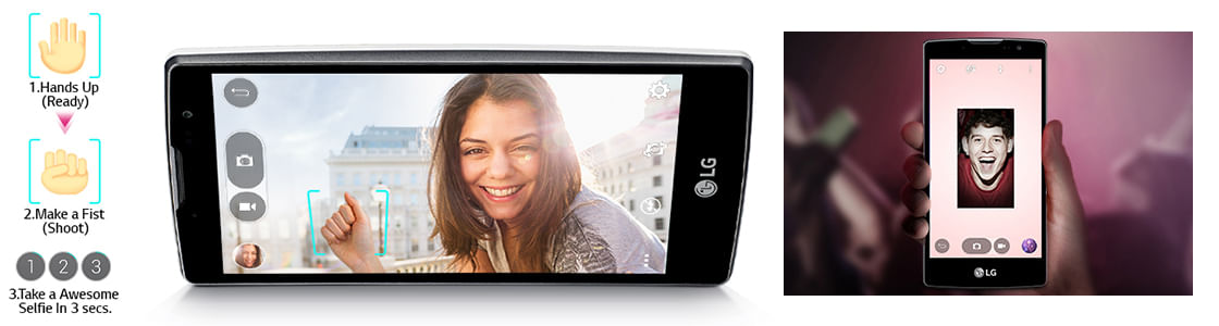 Smartphone LG Volt - Quick Selfie e Virtual Flash